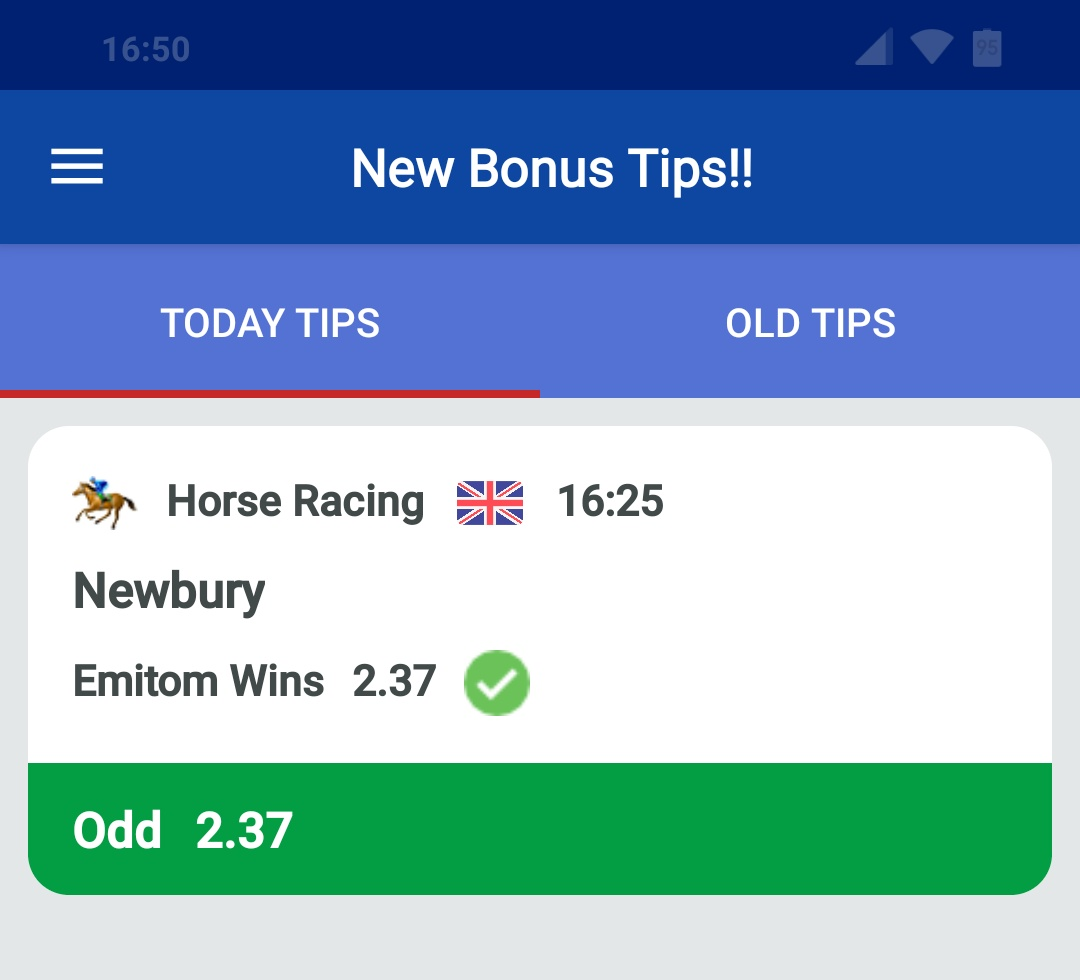 Emitom Bonus Tip Daily Double Tips